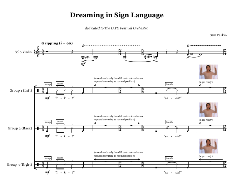 Dreaming In Sign Language